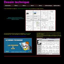 La technologie au collège - Le dessin technique
