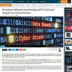 Un malware détourne la technologie AMT d'Intel pour masquer ses communications