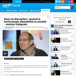 Bernard Stiegler, Institut de recherche et d'innovation du centre Pompidou - Dans la disruption : quand la technologie déstabilise la société - version intégrale - Parole d'auteur éco