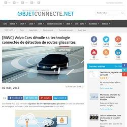 Volvo dévoile sa technologie de détection de route glissante