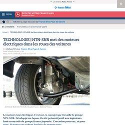 TECHNOLOGIE NTN-SNR met des moteurs électriques dans les roues des voitures