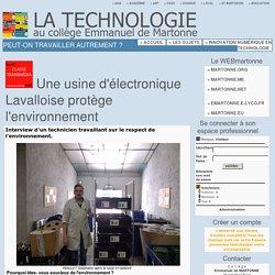 Index - La Technologie au collège Emmanuel de Martonne