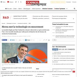 Movea met la technologie en mouvement