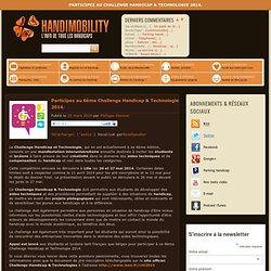 Participez au Challenge Handicap & Technologie 2014