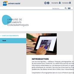 RÉCIT univers social - Technologie - - Analyse iconographique