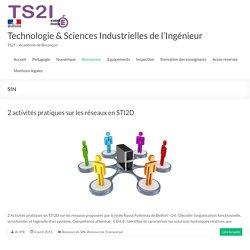 SIN – Technologie & Sciences Industrielles de l'Ingénieur