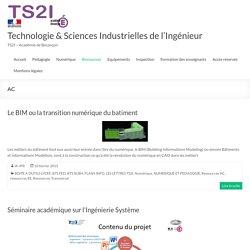 AC – Technologie & Sciences Industrielles de l'Ingénieur