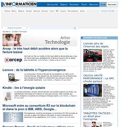 L'actualité de la Technologie sur L'Informaticien