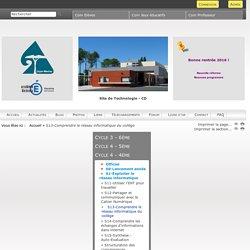 Technologie - Collège Gujan-Mestras - S13-Comprendre le réseau informatique du collège