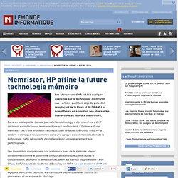 Stratégie et technologie - Memristor, HP affine la future technologie mémoire