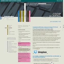 L'exemple des QR Codes comme technologie d'interfaçage entre classe et ressources numériques en ligne.