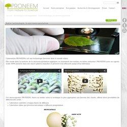 Notre technologie, la microencapsulation