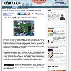 Technologie et pédagogie dans les mondes virtuels