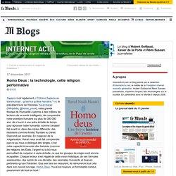Homo Deus : la technologie, cette religion performative