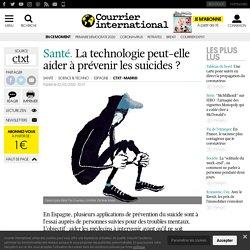 La technologie peut-elle aider à prévenir les suicides?