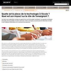 Quelle est la place de la technologie à l'école? Quel est son impact sur le rôle de l'enseignant? : France