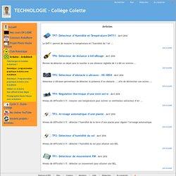 TECHNOLOGIE - Collège Colette - Domotique: programmation graphique Arduino avec ArduBlock