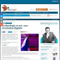 Technologie et art : une révolution digitale