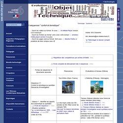 """ac d'Orléans-Tours3 séquences """" confort et domotique"""""""