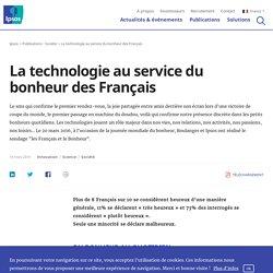 La technologie au service du bonheur des Français