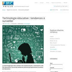 Technologie éducative : tendances à surveiller