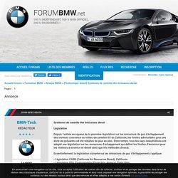 [Technologie diesel] Systèmes de contrôle des émissions diesel (Page 1) / Moteur BMW / ForumBMW.net