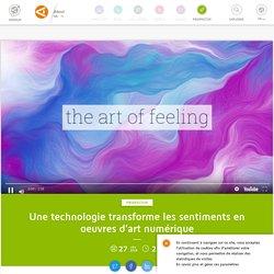 Une technologie transforme les sentiments en oeuvres d'art numérique