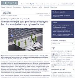 Profilage psychologique des utilisateurs avec Fujitsu pour renforcer la sécurité