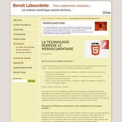 La technologie derrière le webdocumentaire - Benoît Labourdette