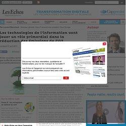 Les technologies de l'information vont jouer un rôle primordial dans la réduction des émissions de CO2