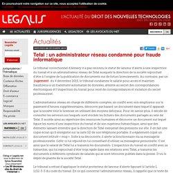 Tefal : un administrateur réseau condamné pour fraude informatique