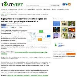 20140905 Toutvert_Eqosphere : les nouvelles technologies au secours du gaspillage alimentaire