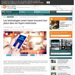 Les technologies smart home trouvent leur place dans les foyers américains