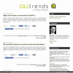 Le blog des tendances design, technologies, architecture, web