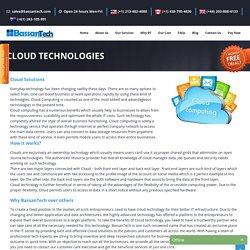 Cloud Technologies Solutions – BasaanTech.com
