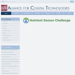 Alliance for Coastal Technologies - Nutrient Sensor Challenge
