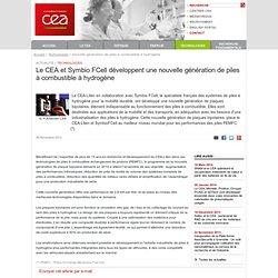 Le CEA - Actualités - nouvelle génération de piles à combustible à hydrogène