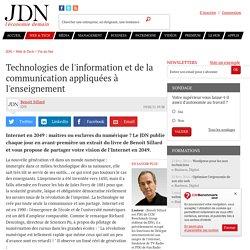 Technologies de l'information et de la communication appliquées à l'enseignement