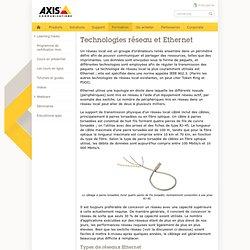 Technologies réseau et Ethernet - Guide de technique