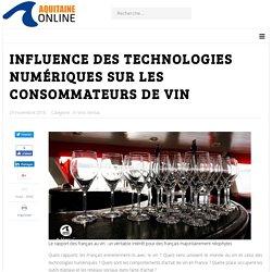 Influence des technologies numériques sur les consommateurs de vin