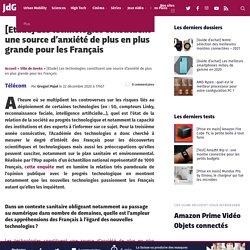[Etude] Les technologies constituent une source d'anxiété de plus en plus grande pour les Français