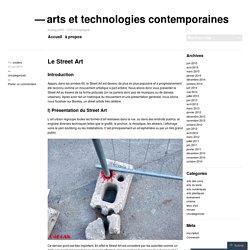 arts et technologies contemporaines