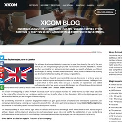 Xicom Technologies opens up a new corporate office in UK - Xicom Technologies Ltd.