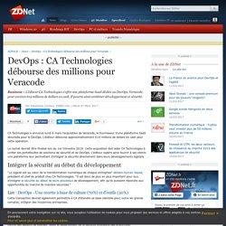 DevOps : CA Technologies débourse des millions pour Veracode - ZDNet