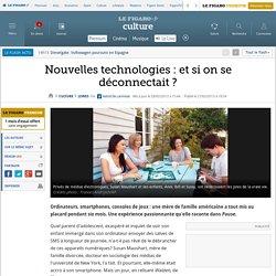 Nouvelles technologies : et si on se déconnectait?