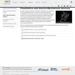 KCF Technologies, Inc - Prosthetics and Electro-Mechanical Devices