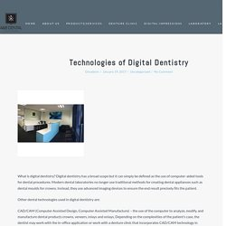 Technologies of Digital Dentistry – ANB Dental Lab