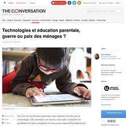 4- DONNEES: CSA Technologies et éducation parentale, guerre oupaix desménages?