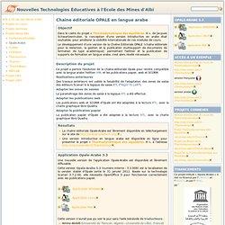Opale-Arabe [Nouvelles Technologies Éducatives à l'EMAC]