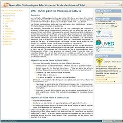 OPA [Nouvelles Technologies Éducatives à l'EMAC]